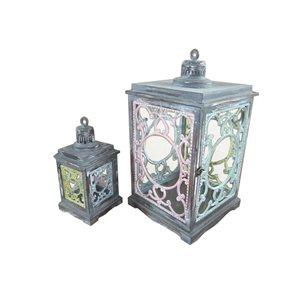 "Lanterne Concord 13½x6½x6½"""