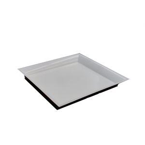 """Assiette plastique Mila 11½x11½"""""""