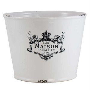 """Cache pot céramique """"Maison"""" 7"""""""