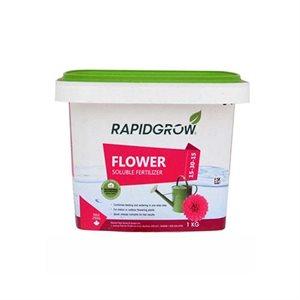 RAPIDGROW Engrais soluble 1kg 15-30-15